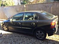 Vauxhall Astra 1.8 y reg for spares engine is a runner but been stood on drive for 9 month ,