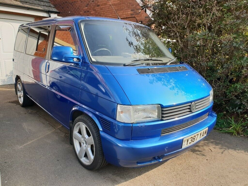 VW T4 Caravelle Camper - Very Low Mileage with Large Drive ...