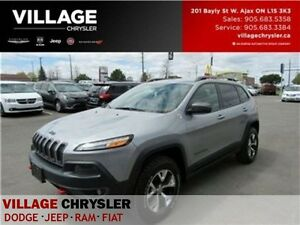 2014 Jeep Cherokee Trailhawk TOW LEAHTER NAV BACKUP CAM