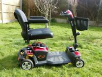 Pride Apex Rapid Mobility Scooter - Good clean condition - Fold away for car boot