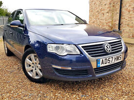 2008 VW PASSAT 2.0TDI 140HP, 1 OWNER, 12 MOT, F/S/H, CAMBELT DONE, VERY CLEAN CONDITION, L@@K!!!!