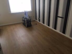 one bedroom flat for rent in good central area of Hawick close to shops, bus stop and leisure centre