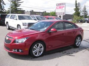 2012 Chevrolet Cruze LT-MANUAL-AIR-CLOTH-SUNROOF