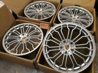 """NEW 20 INCH ALLOYS 20"""" AUDI Q7 2006 - 2014 S LINE RSQ7 ALLOY WHEELS R20, used for sale  Barking, London"""