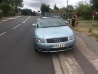 Audi A4 1.8T Cabriolet 53 plate SELL AS WHOLE OR BREAKING