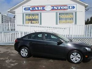 2012 Chevrolet Cruze LS AUTOMATIC!! AC!! TWO-TONE CLOTH SEATS!!