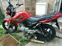125cc Honley HD 2 owned from new 65 plate