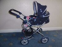 Hauck Dolls Pushchair with carry cot