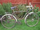CLASSIC 1950 RALEIGH RUDGE RACER ONE OF MANY QUALITY BICYCLES FOR SALE