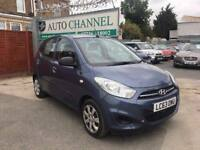 Hyundai i10 1.2 Classic 5dr£4,475 p/x welcome 1 YEAR FREE WARRANTY. NEW MOT