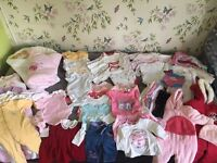 ***Big Bundle*** Baby Girl Clothes sizes up to 3 months and 3 - 6months