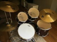 "Drum kit Mapex 20"" kicker burgundy"
