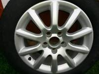 Brand New Vauxhall Astra/zafira Alloy wheel and Goodyear Tyre