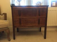 Wooden chest of drawers with character
