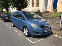Vauxhall Zafira B 1.8 petrol SRI full of NEW PARTS, 9 months MOT