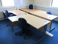 corner desk 1600mm x 1200mm