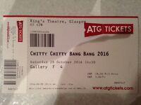 Chitty Chitty Bang Bang - Glasgow Sat 29th Oct 14:30pm