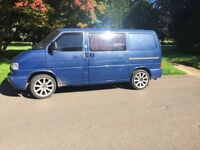 Volkswagen t4 1.9 2000 SWB Campervan with electrics and insulation