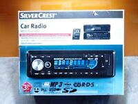 New boxed cd radio