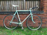 Bianchi Celeste Vintage Steel Road Bike