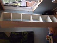 White Ikea Billy bookshelf
