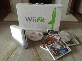 Wii bundle including games and Wii Fit!