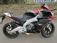 APRILIA RS4 125CC IN EXCELLENT CONDITION WITH LOW MILEAGE