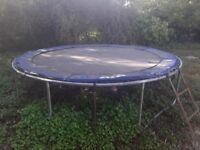 Free 12 ft trampoline