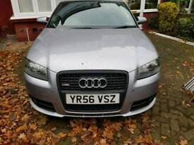 Audi a3 2.0tdi s line s-tronic dsg 220bhp lowered camblet + dmf changed