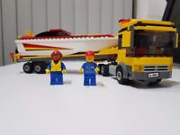 LEGO City Power Boat Transporter (4643) - complete