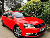 **MEGASPEC+PANROOF** VW PASSAT 2.0 TDI TECHSPORT + FULL VW HISTRY + 1 CO OWNR + NAV/LEATHR/PANRF+VGC