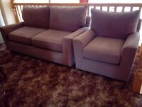 Next matching 2 seater sofa and armchair £100