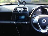 Black smart car fortwo 2009