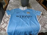 Manchester City Shirt Home Size Medium