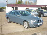 MERCEDES-BENZ C CLASS 1.8 C180 Kompressor Avantgarde SE 4dr Auto (grey) 2007