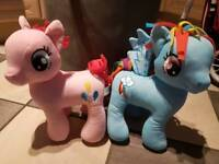 My little pony design and wash