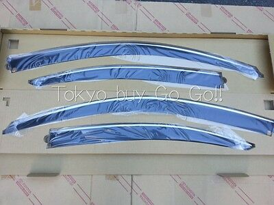 Lexus IS350 IS300 IS250 ISF Window Visor NEW Genuine OEM Parts 2006-2012