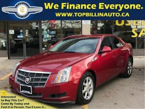 2008 Cadillac CTS 3.6L Navigation, 6 Speed Only 106K kms
