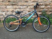 New Falcon Neutron Full Suspension 24 inch Kids Junior Boys Bike RRP £265