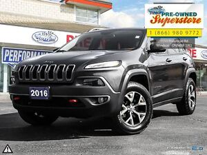 2016 Jeep Cherokee Trailhawk***HEATED SEATS***