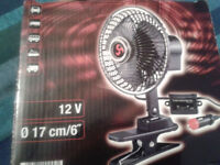 OSCILLATING FAN FOR VEHICLES