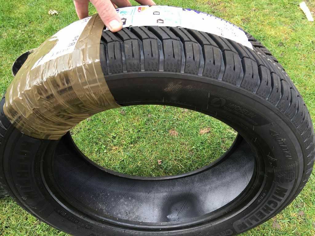 2 brand new michelin crossclimate tyres 195 55 r16 91h quiet good quality tyres in. Black Bedroom Furniture Sets. Home Design Ideas