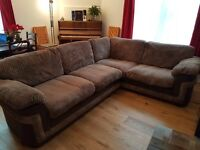 Large comfy corner sofa bed worth over £1,900 new
