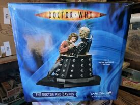 Doctor Who And Davros Weta Statue Limited Edition RARE OOP COLLECTIBLE