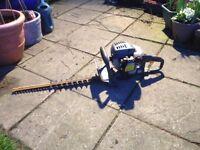 Ryobi petrol hedge cutter. For spares or repair.