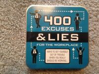400 lies and excuses for the workplace