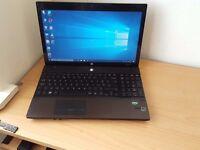 HP Laptop Microsoft Windows 10 Office 4GB RAM 500GB HDD Wifi