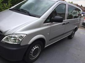 2013 Mercedes Vito Minibus 9 Seater