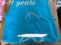 Girls diamanté trampoline gymnastics zip up hoodie 9-11 yrs