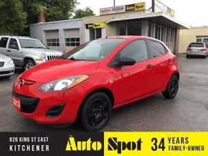 2013 Mazda Mazda2 GX/LOW,LOW KMS!/PRICED-QUICK SALE!